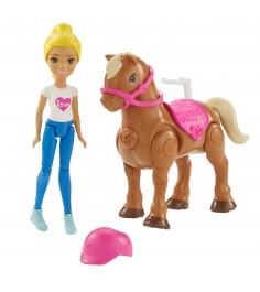 Кукла Barbie в движении пони и кукла FHV63