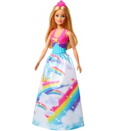 Кукла Barbie волшебная принцесса FJC95
