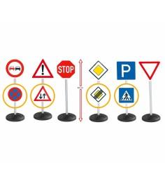 Игровой набор Big дорожные знаки 69 см 6 шт 1198