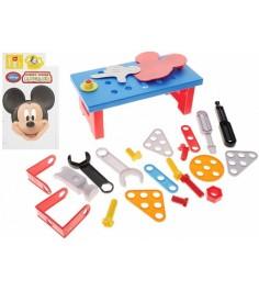 Игровой набор инструментов Bildo с тележкой Микки Маус B 8403