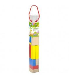 Деревянные кубики Bondibon 14 деталей вв2042
