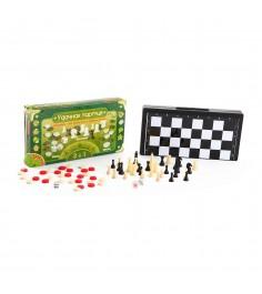 Настольная игра удачная партия 3 в 1 13 см Bondibon ВВ0686