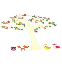 Наклейки для оформления детской комнаты чудо дерево Bondibon ВВ1514