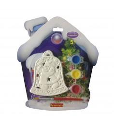 Набор для творчества елочные украшения колокольчик в домике Bondibon ВВ1602