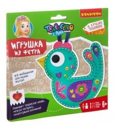 Набор для шитья игрушки из фетра творчество с луки птичка Bondibon ВВ2204
