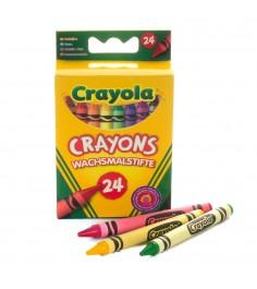 Разноцветные пастели 24 шт Crayola 0024C