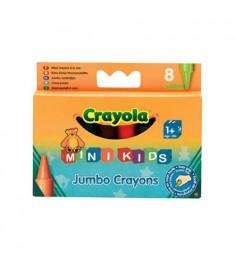 8 восковых мелков для самых маленьких Crayola 0080C