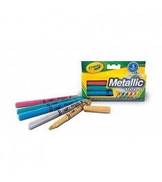 Набор фломастеров цвета металлик Crayola 58-5054