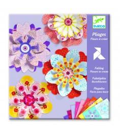 Набор для создания объемной картины цветочки djeco 9403