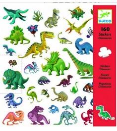 Наклейки динозавры 160 наклеек Djeco 08843