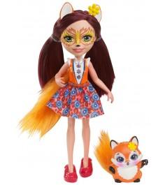 Кукла Enchantimals Felicity Fox с питомцем DVH89