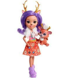 Кукла Enchantimals Данесса Оления с питомцем FNH23