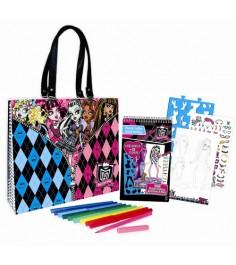 Подарочный набор с портфоли в сумке Fashion angels школа монстров 64012
