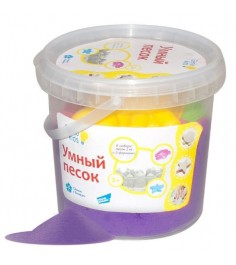 Набор умный песок фиолетовый 1 кг Genio kids ssr102