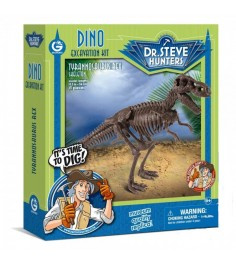 Набор для проведения раскопок Geoworld Dr Steve Hunters Тираннозавр Рекс CL1663K