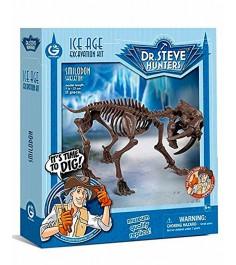 Набор для проведения раскопок Geoworld Dr Steve Hunters Скелет саблезубого тигра CL1677K