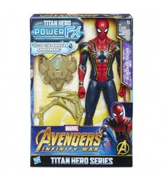 Avengers movie фигурка титана человек паук iron spider Hasbro E0608121