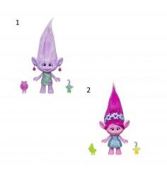 Игровой набор тролли фигурка тролля и малыш Hasbro E0144