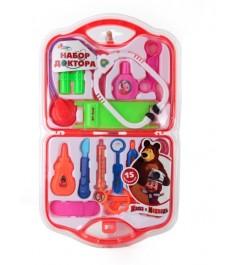 Набор доктора Играем вместе Маша и медведь в чемодане B313764-R1