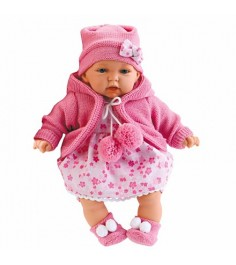 Кукла Juan Antonio Азалия в ярко розовом 27 см 1220c