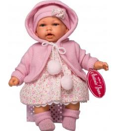 Кукла Juan Antonio Азалия в розовом 27 см 1220p