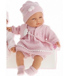 Кукла Juan Antonio Соня в ярко розовом 37 см 1443V