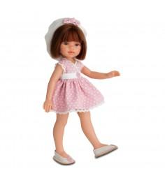 Кукла Эмили летний образ брюнетка 33 см Juan Antonio Munecas 2581Br