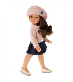 Кукла Juan Antonio Эльвира в берете брюнетка 33см 2587