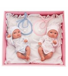 Куклы двойняшки Juan Antonio Пепито и Лолита 21см 3902P