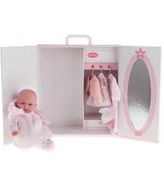 Кукла Juan Antonio Лория в розовом с гардеробом 34 см 7033P