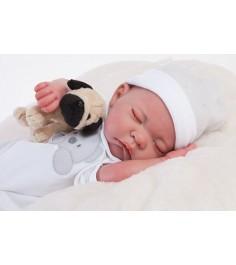 Кукла реборн Juan Antonio младенец Рамон спящий 40см 8108