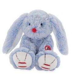 Мягкая игрушка Kaloo Руж Заяц маленький голубой 19 см K963542