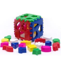 Игрушка сортер кубик логический большой Каролина 40-0010...
