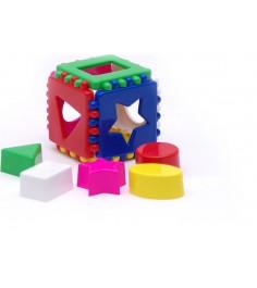 Игрушка сортер кубик логический малый Каролина 40-0011...