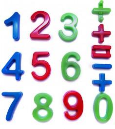 Набор цифр для песочницы арифметика 15 знаков Каролина 40-0015...