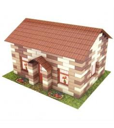 Конструктор из кирпичиков домик в деревне 260 деталей Каррас 1301