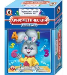 Настольная игра арифметический тренажёр Русский стиль 3401