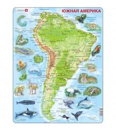 Пазл Larsen Животные Южной Америки 65 элементов A25
