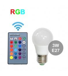Лампа Leco R GigaBloks 3 Вт E27 с пультом управления т236012