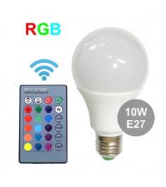 Лампа Leco R GigaBloks 10 Вт E27 с пультом управления т236016