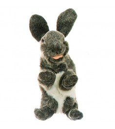 Мягкая игрушка на руку Living Puppets Кролик 33 см W076