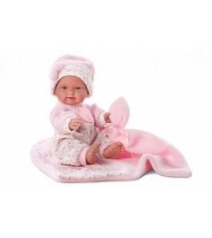 Кукла Llorens Juan Бэбита Роза 26 см одеялом L 26262