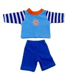 Одежда для куклы Mary Poppins 38 43см кофточка брючки Море 219