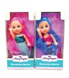 Кукла Mary Poppins Мегги русалка 9см в асс те 451172