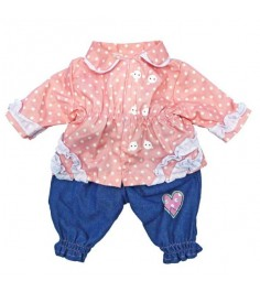 Одежда для куклы Mary Poppins 38 43см кофточка и штанишки 452029