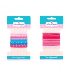 Резинки для волос Mary Poppins само совершенство средние плоские 10 шт 455033