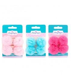 Резинки для волос Mary Poppins зайка помпоны 2 шт 455037