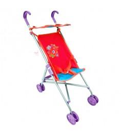 Коляска трость Mary Poppins Цветочек с тентом 52х26х55 см 67127