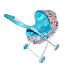 Коляска люлька Mary Poppins Фантазия с карзиной голуб 62х35х68см 67316