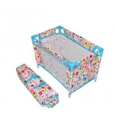 Кроватка Mary Poppins Фантазия разборная голуб 535х32х335см 67318